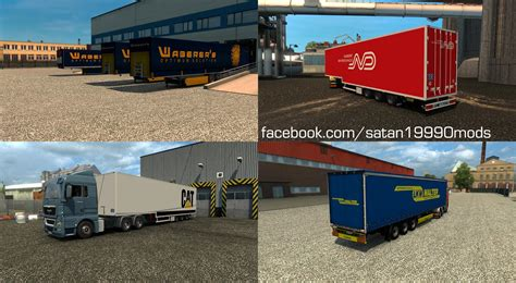 mods game euro truck simulator trailer mod pack v3 9 simulator modification site