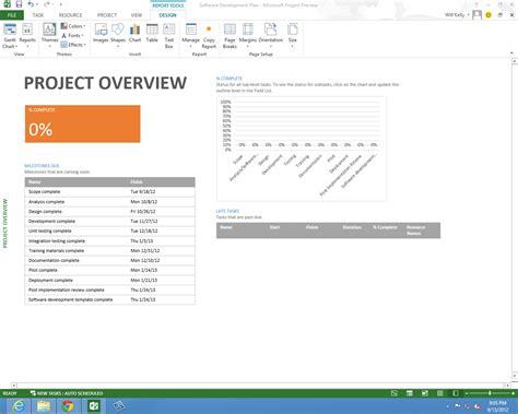 ms project 2013 report templates madrat co