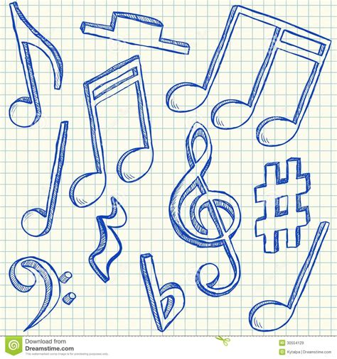 musical doodle free note doodle www imgkid the image kid has it