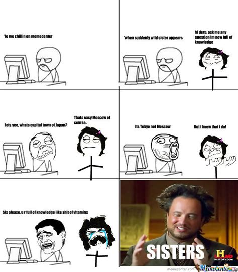 Smartass Memes - smartass sister and their knowledge by dafuqdidijustread