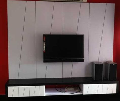 How To Build Cabinets For Kitchen by Black And White Tv Cabinet Design Kuala Lumpur Malaysia