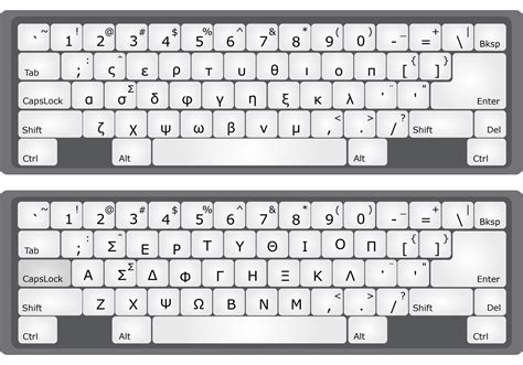 Letter Keyboard alphabet keyboard vectors free vector