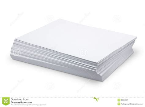 what is l stack stack white paper royalty free stock photography image