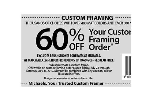 picture frames coupon