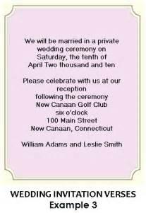 wedding reception wording exles wording for wedding reception invitations the big day