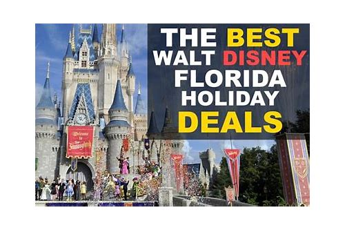 disney package deals florida
