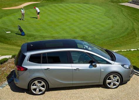 opel minivan opel zafira minivan mpv 2011 reviews technical data