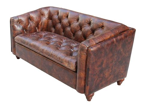 Leather Couch Cigar Leather Couch Distressed Leather Couch Vintage Style Leather Sofa