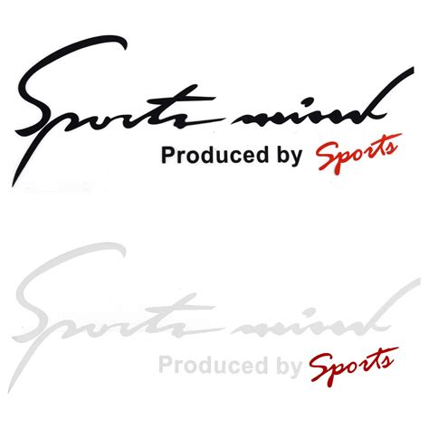 Custom Stiker Sport Mind Sport Stickers For Car Windows Custom Sticker