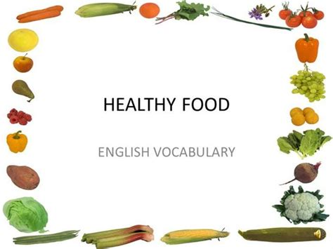 Healthy Food Powerpoint Template healthy food authorstream