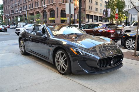 Maserati Chicago by 2013 Maserati Granturismo Mc Convertible Sport Stock