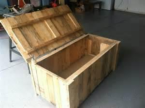 Box from pallet wood pallet diy ideas pallets idea bench pallet