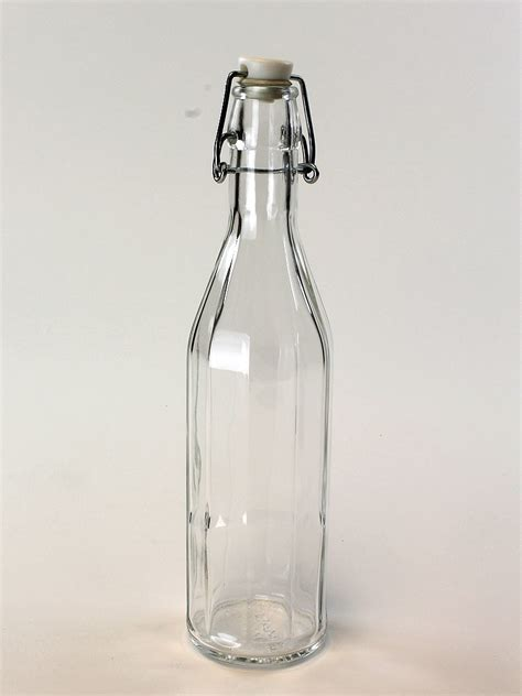 swing alcohol glass drinking bottles swing top