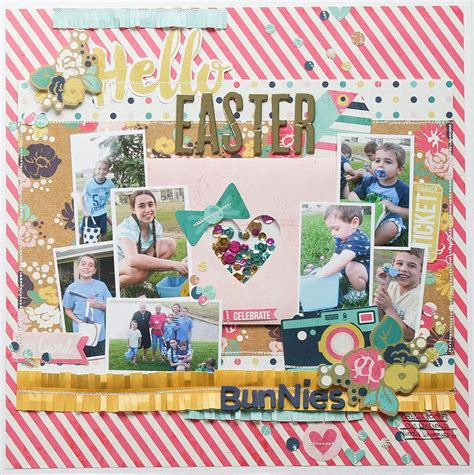 scrapbook layout easter easter scrapbook pages easter scrapbook page kits egg