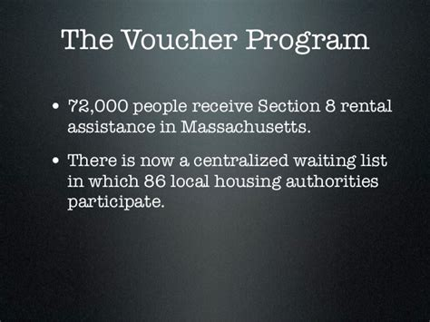 massachusetts section 8 centralized waiting list the golden opportunity a guide to the section 8 housing