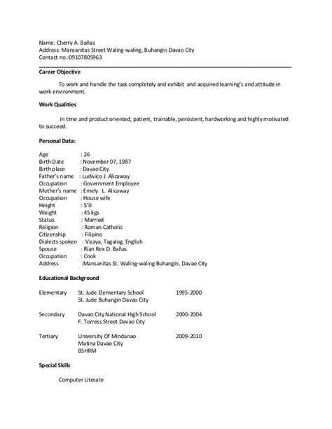 special qualification in resume special qualification in resume resume ideas