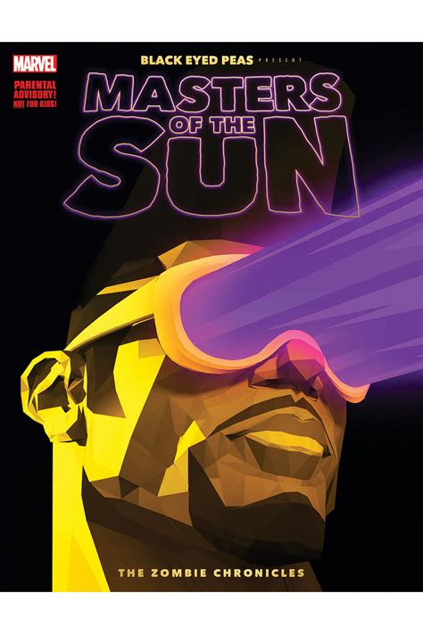marvel and black eyed peas team up for masters of the sun