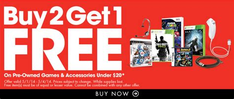 stop buy 2 get 1 free on all pre owned accessories 20 freebies2deals