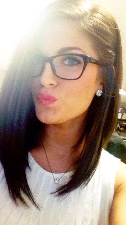 cute hairstyles for glasses 20 cute lively hairstyles for medium length hair more