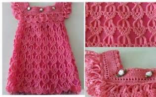 el m s hermoso vestido en crochet para ni as