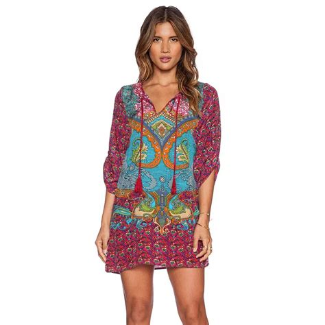 bohemian summer dress 2017 ethnic popular vintage bohemian clothing buy cheap vintage