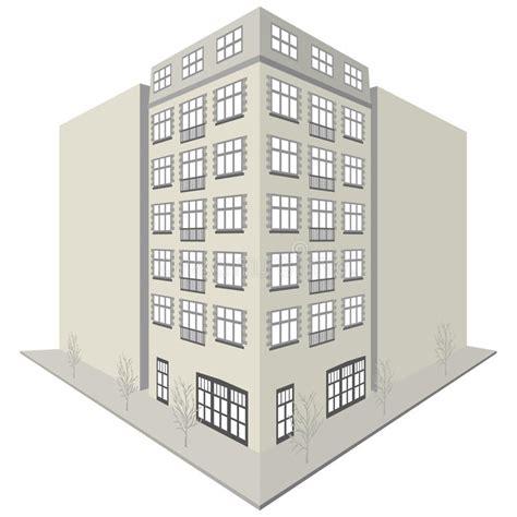 disegni appartamenti disegno della palazzina di appartamenti illustrazione