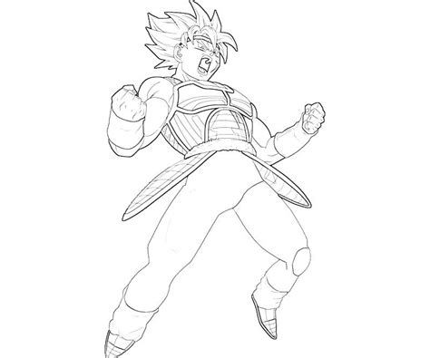 dragon ball z coloring pages bardock bardock coloring pages coloring pages