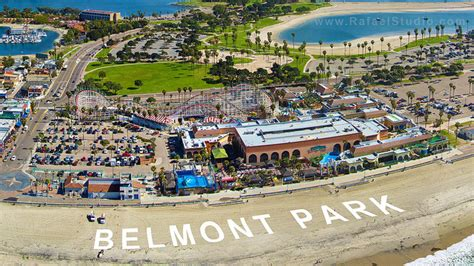 Mission Style Homes by Belmont Park Aerial An Aerial View Of Belmont Park In