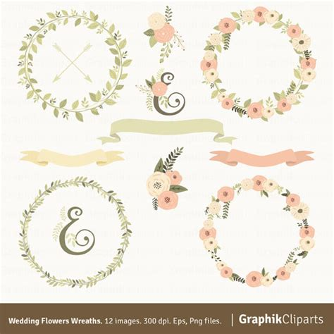 Laurel Wedding Clipart by Wedding Flowers Wreaths Clipart Wreaths Clipart Laurel