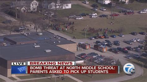 Middle School Website by Bomb Threat At Middle School