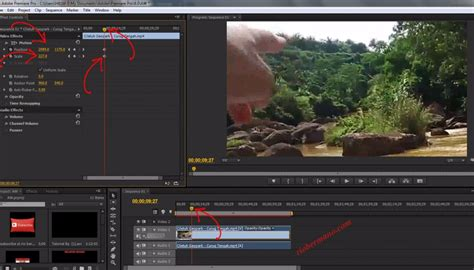 adobe premiere pro zoom out cara zoom in zoom out di adobe premiere dengan benar