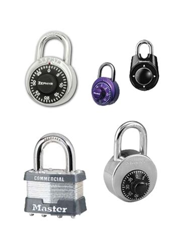 Types Of Combination Locks - locker locks schoollockers