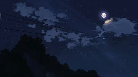 wallpaper anime night download anime night sky wallpaper 5776 1920x1080 px high