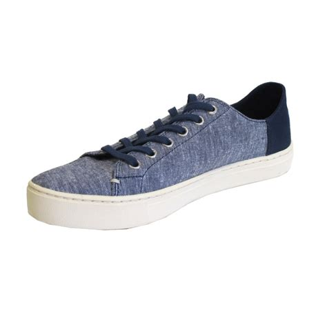 toms womens shoes lennox navy