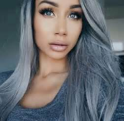 what is best hair for wirey gray hair blue eyes fashion grey hair image 3850673 by