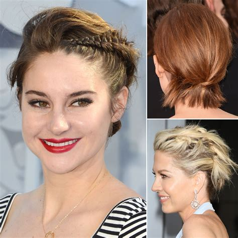 how to do updos for hair and bobs popsugar australia