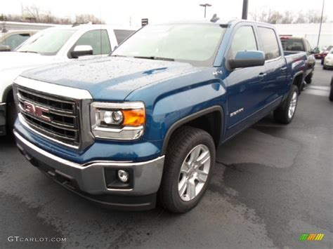 2015 blue metallic gmc 1500 sle crew cab 4x4 99796561 gtcarlot car color