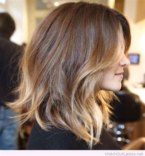 balayage on medium length hair balayage shoulder length hair