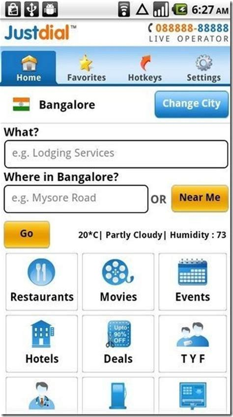 Justdial Address Search Just Android App For Local Places Search