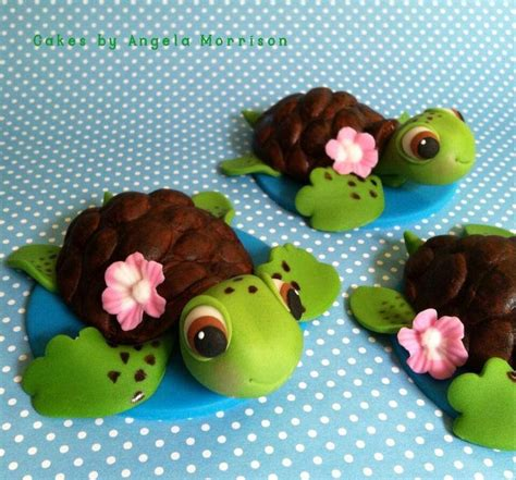 25 best ideas about sea turtle cakes on sea