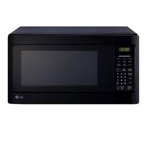 Home Depot Countertop Microwaves by Lg Electronics 1 1 Cu Ft Countertop Microwave In Smooth