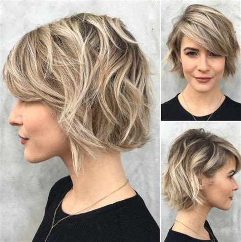 short layered choppy bobs with side bangs 60 fabulous choppy bob hairstyles
