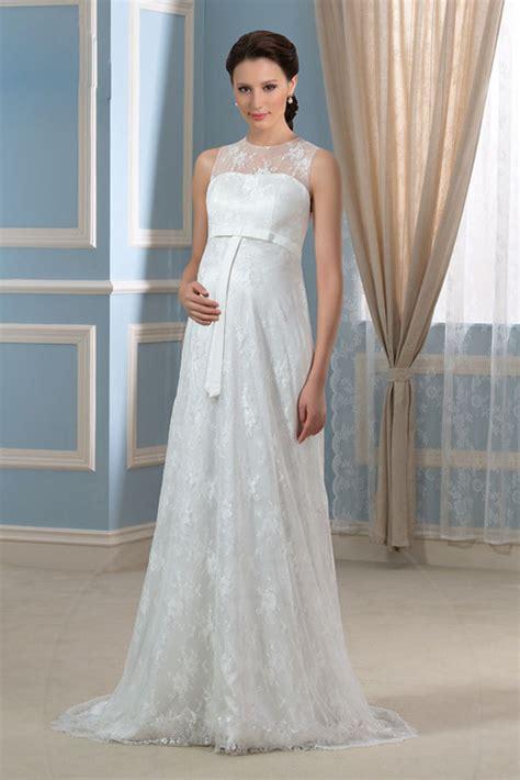 fiore abiti da sposa abito da sposa stile impero zip cintola fiore pizzo okmi it