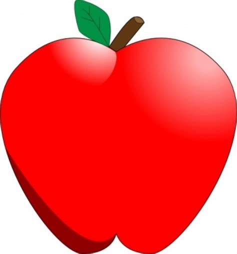 Cliparts Free free apple clipart cliparts co