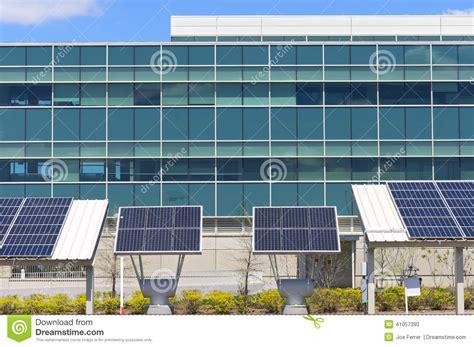 modern solar panels price modern office with solar power stock photo image 41057390