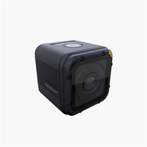 gopro models gopro 4 session 3d model