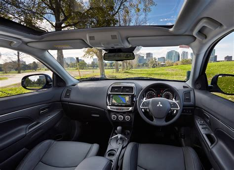 mitsubishi asx 2014 interior mitsubishi cars my15 asx on sale now from 24 990