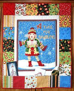 christmas caroler card holder | favequilts.com