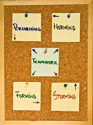 the five stages of team development: a case study