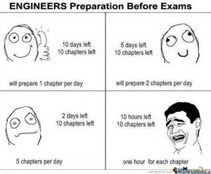 Memes About Exams - engineers preparation before exams funny exam meme image